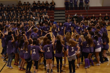 US pep rally Jrs
