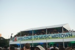 Super VIP viewing stage at Music Midtown 2015