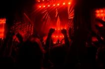 Drake performing at Music Midtown 2015