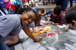 All smiles at Chalktoberfest! Featured: Danielle Lancaster (12)