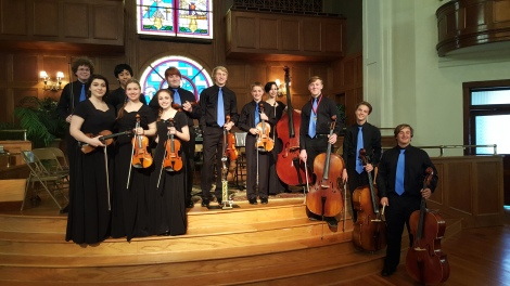 Walker School Orchestra Students