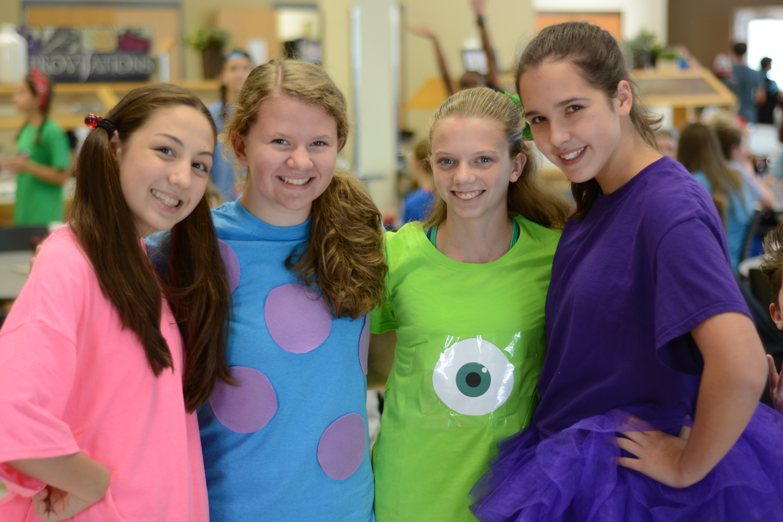Spirit Week Costume Ideas