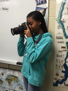 Kayla Lakine snaps pictures of another winter class