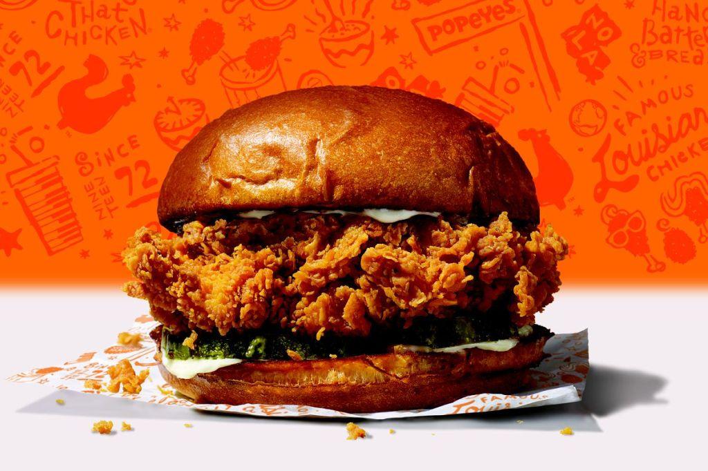 Popeyes Chicken Sandwich